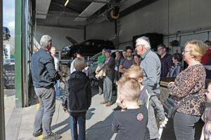 Uitleg over airbags en auto onderdelen op Taste of Life event Autobedrijf Bart Ebben Malden - Nijmegen