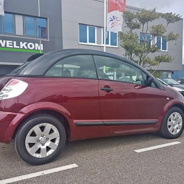 Citroen C3 Pluriel restyle cleaning - frisse start in eigen auto