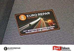 Eurorepar mobiliteitspas - pechservice onderweg in Europa - Autobedrijf Bart Ebben Malden