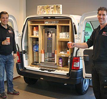 Koffiehoek Citroen Berlingo bij Autobedrijf Bart Ebben