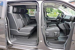 Peugeot Expert 2017 dubbele cabine - dubbele schuifdeur nieuw geleverd