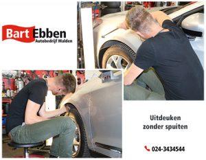 Uitdeuken zonder spuiten bij Autobedrijf Bart Ebben Malden - Nijmegen