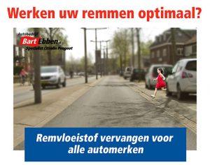Vakkundig remvloeistof vervangen voor alle auto merken door BOVAG Autobedrijf in Malden regio Nijmegen