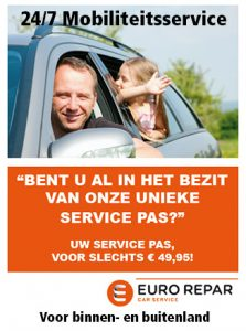 Eurorepar car service Servicepas bij Autobedrijf Bart Ebben in Malden regio Nijmegen