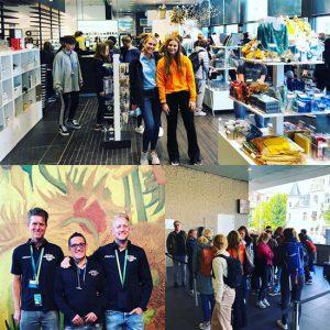 Global Montessori Games cultuur - Van Gogh museum uitwisseling