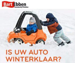 Uw auto winterklaar - Wintercheck bij Eurorepar Autobedrijf Bart Ebben in Malden